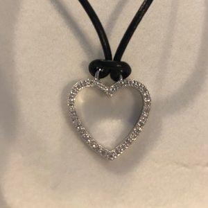 Macy's Jewelry - Diamond Heart Necklace